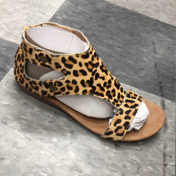 Corkys Shoes | Jayde Leopard Sandals